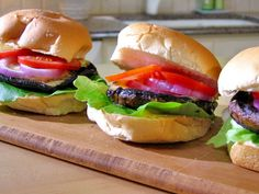 Get this all-star, easy-to-follow Portobello Burgers recipe from Food Network
