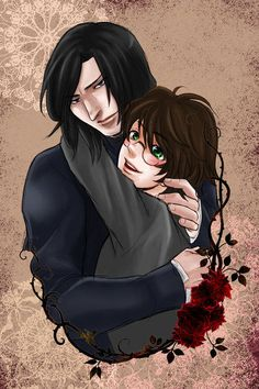 Snarry<<uuuh isn't that pedophilia Harry Potter Severus Snape, Harry Potter Ships, Harry Potter Anime, Harry Potter Fan Art, Barty Crouch Jr, Cute Anime Chibi, Drarry, Grumpy Cat, Hogwarts