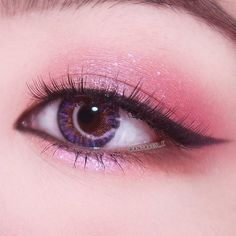 Korean makeup tutorials: Make use of a shimmer blush unless your skin layer is blemish-free and flawless.Shimmer blushes can bring out blemishes and i. Korean Makeup Look, Korean Makeup Tips, Korean Makeup Tutorials, Asian Makeup, Korean Makeup Ulzzang, Eye Makeup Glitter, Makeup Lipstick, Blush Makeup, Diy Makeup