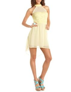 sleeveless mock neck dress  Get 10% off your purchase at http://www.studentrate.com/itp/get-itp-student-deals/Charlotte-Russe-10percent-Student-Discount--/0