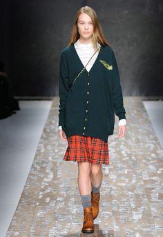 Tartan-à-Porter - Blugirl Fall Winter 2013/2014 Fashion Show Collection #mfw