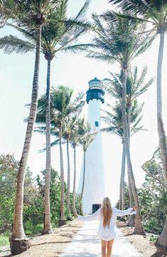 Cape Florida Lighthouse #miami Florida Usa, Visit Florida, Florida Travel, Travel Usa, Usa Miami, Kissimmee Florida, Clearwater Florida, Sarasota Florida, Air Travel