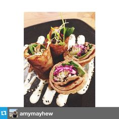 Buckwheat Crepe. Instagram by @Amy Ortlieb Mayhew Buckwheat Crepes, Throughout The World, Plant Based, Amy, Restaurants, Mexican, Ethnic Recipes, Plants, Instagram