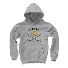 Marc-Andre Fleury Sticks Y Pittsburgh Officially Licensed NHLPA Unisex Youth Hoodie S-XL