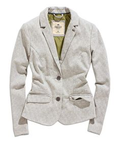 Look what I found on #zulily! Light Gray Blazer #zulilyfinds