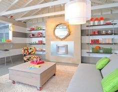 Can you believe this living room used to be a garage?