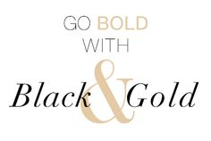 Trend Spotting: Black & Gold  dreamjewels.kitsylane.com... Enter: WELCOMETOKL at checkout, and you'll instantly receive $9 off! This coupon is one-time use only and expires June 30 at 11:59pm
