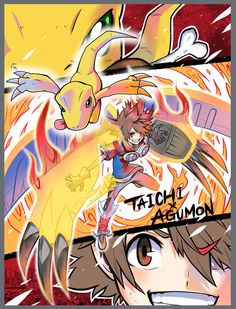 Naoki Akamine is known to Digimon fans for his artwork from the Digimon Universe: AppliMonsters manga, along with the one-shot manga. Digimon 02, Digimon Tamers, Digimon Wallpaper, Gundam, Character Art, Character Design, Digimon Digital Monsters, Digimon Adventure Tri, Character Wallpaper