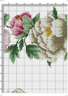 "ru / kento - Альбом ""Α Counted Cross Stitch Patterns, Cross Stitch Charts, Cross Stitch Embroidery, Hand Embroidery, Cross Stitch Rose, Cross Stitch Flowers, Flower Patterns, Needlepoint, Needlework"