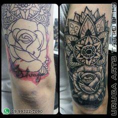 Uruca Arts Tattoo 13  Obrigado Thi Gomes.  Endereço: Av. Dr. Ângelo Nogueira Vila, 890 Águas de São Pedro - SP WhatsApp: (19) 99322-7090  #tatuagem #tattoo #tattoos #cobertura #tattoocoverup #tatuagemcobertura #coverup #aguasdesaopedro #vempraáguas #vempraaguas #tattoo13 #obrigado #mandala #rosacommandala #rosacobertura #emandamento #urucaarts #tattoo2me #vempraaguas #vempraáguas #aguasdesaopedro #piracicaba #saopedro #saopedrosp #brotas #brotassp
