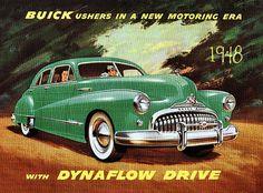 Yesterday's Ride ~ 1948 Buick