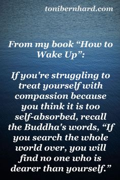 "From my book ""How to Wake Up"""
