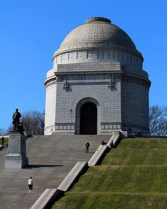 McKinley Monument in Canton, Ohio.