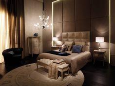 FENDI Bedroom Interiors, Home Bedroom, Business Furniture, Hotel Lobby, Décor Ideas, Diy Home Improvement, Bedroom Inspiration, Luxury Interior, Luxury Living