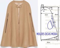 Блузы, накидки, жилеты - минимум шитья