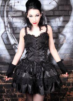 Living Dead Souls Dark Rose Dress