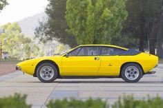 Lamborghini Urraco  - Yellow Car