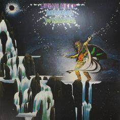 Uriah Heep: Demons and Wizards: I must admit - this looks like a high schooler parodying Roger Dean. It's all a bit too obvious, isn't it?