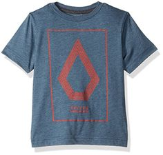 Volcom Little Boys Toddler Line Art Short Sleeve Tee Youth Airforce Blue 3T *** Continue to the product at the image link.Note:It is affiliate link to Amazon.