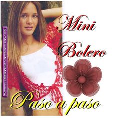 Delicadezas en crochet Gabriela: Mini boleros