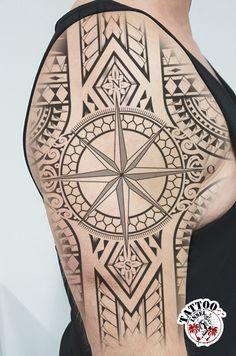 kompass tattoo motiv von micha aus der tattooinsel in bünde Tattoo Motive, Tattoos, Tatuajes, Tattoo, Tattos, Tattoo Designs