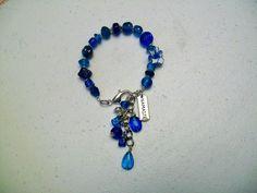 One of a kind boho charm bracelet - namaste - $16
