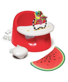 Look at this Watermelon Red bebePOD Flex Plus Booster on #zulily today!