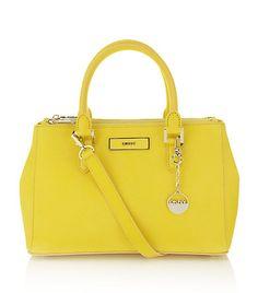 DKNY Saffiano Shopper Bag   Harrods
