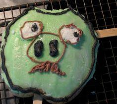 Green Pig Cookie