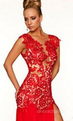 A-Line Chiffon V-neck Long Dress Charm91354