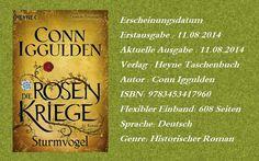 """Leserattes Bücherwelt: [Gastrezension von Karl] zu """"Die Rosenkriege Teil ..."""