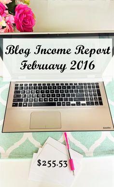 February Blog Income Report