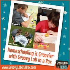 #Homeschooling is groovier with Groovy Lab in a Box!  Hands On Science Fun! #STEM #Education