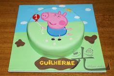 modelo de bolo George