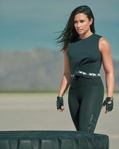 I want to be healthy and strong like her