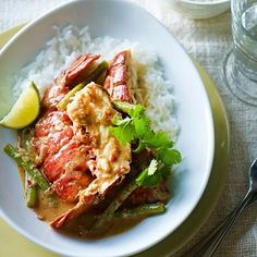 Curried Lobster