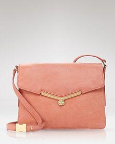Botkier Valentina Shoulder Bag in Blush - such a pretty color for spring