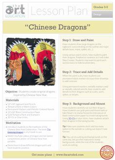 Level: 3-5 Art Education Lesson Plan Art Elements: Shape, Color Art Skills: Drawing, Painting,...