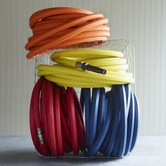 These professional quality Dramm Garden Hoses resist kinking and coil easily, even in cold weather. Nickel-plated brass couplings are crush-proof, even under your heavy boots.