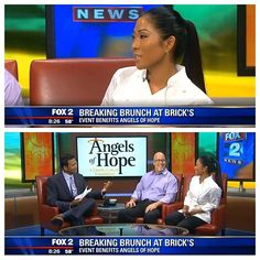 Scott on Fox 2 Detroit News supporting Angels of Hope  www.savvydigitalsolutions.com