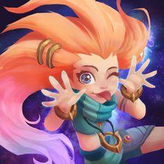 Zoe -New Champion League of Legends- -