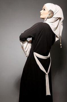 ⇜ abaya & hijab style ⇝