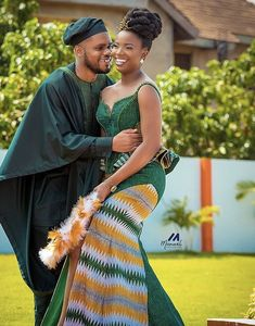 African Formal Dress, African Wear, African Style, African Dress, Ankara Long Gown Styles, Kente Dress, African Traditional Wedding, Kente Styles, Black Couples Goals