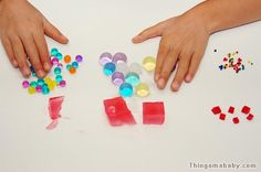 """how to make """"water"""" marbles"""