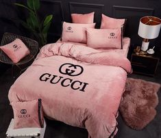 Chanel Bedding, Room Decorations, Interior And Exterior, Comforters, Bedroom Ideas, Bed Pillows, Pillow Cases, Bedrooms, Decorating Ideas