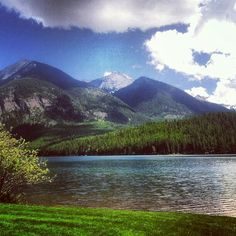 Holland Lake Lodge, MT.  Absolutely and literally a breathtaking place.