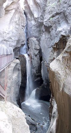 Box Canyon Falls Ouray CO Favorite falls...so loud you can't hear yourself think.