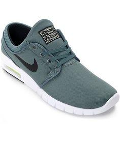 buy popular 309ec 0694e Nike SB Stefan Janoski Air Max Hasta, Volt   Black Shoes