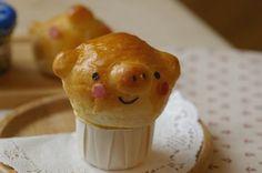 Pig bread ♥ Bento