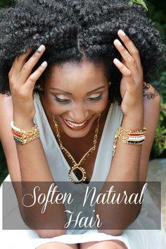 natural hair   Asili Glam: How to soften coarse natural hair